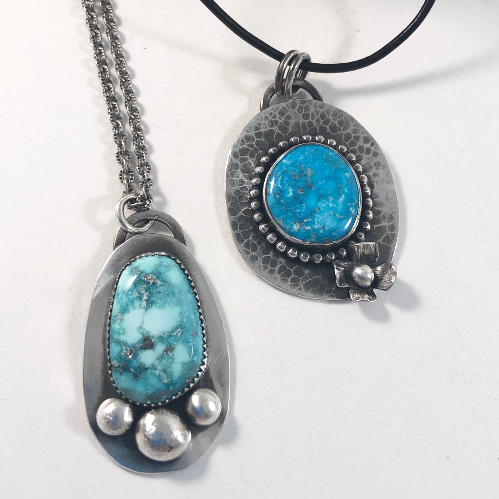 d9    Metalsmith Series: Turquoise Pendant: Friday June 21, 2019 @ 12 - 4 pm