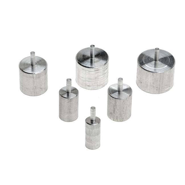 "Wig Jig Delphi - Metal Pegs Set of 6: 3/16"", 1/4"", 5/16"" , 3/8"", 7/16"", 1/2"""