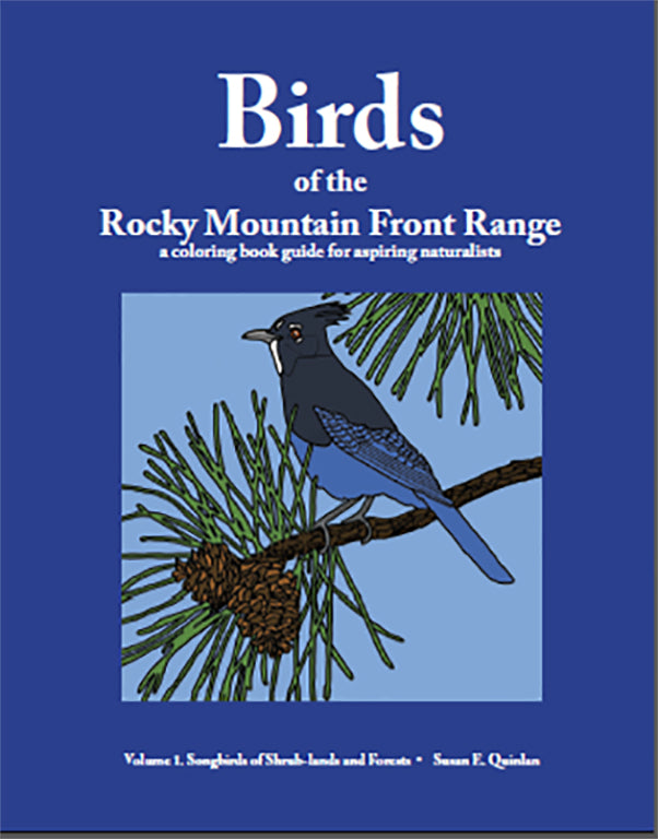 Birds of the Rocky Mountain Front Range—a coloring book guide for aspiring naturalists