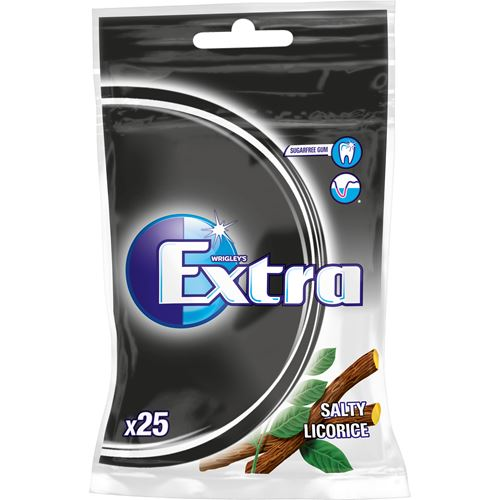Extra Chewing Gum Licorice - Topiceland
