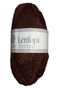 Létt lopi - Wool Yarn - Chocolate heather 0867 - Topiceland