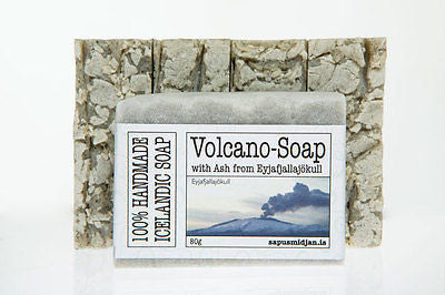 Volcano Soap Bar (80gr) - Topiceland