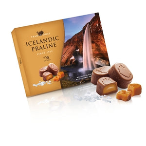 Milk Chocolate with Caramel and Sea Salt (100gr) - Topiceland