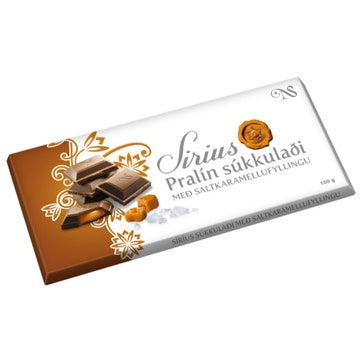 Noi Sirius Chocolate - Caramel cream and sea salt (100gr) - Topiceland