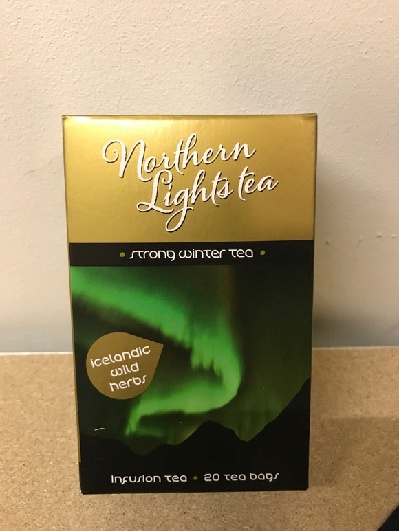 Northern Lights Tea - 20 tea bags - Topiceland