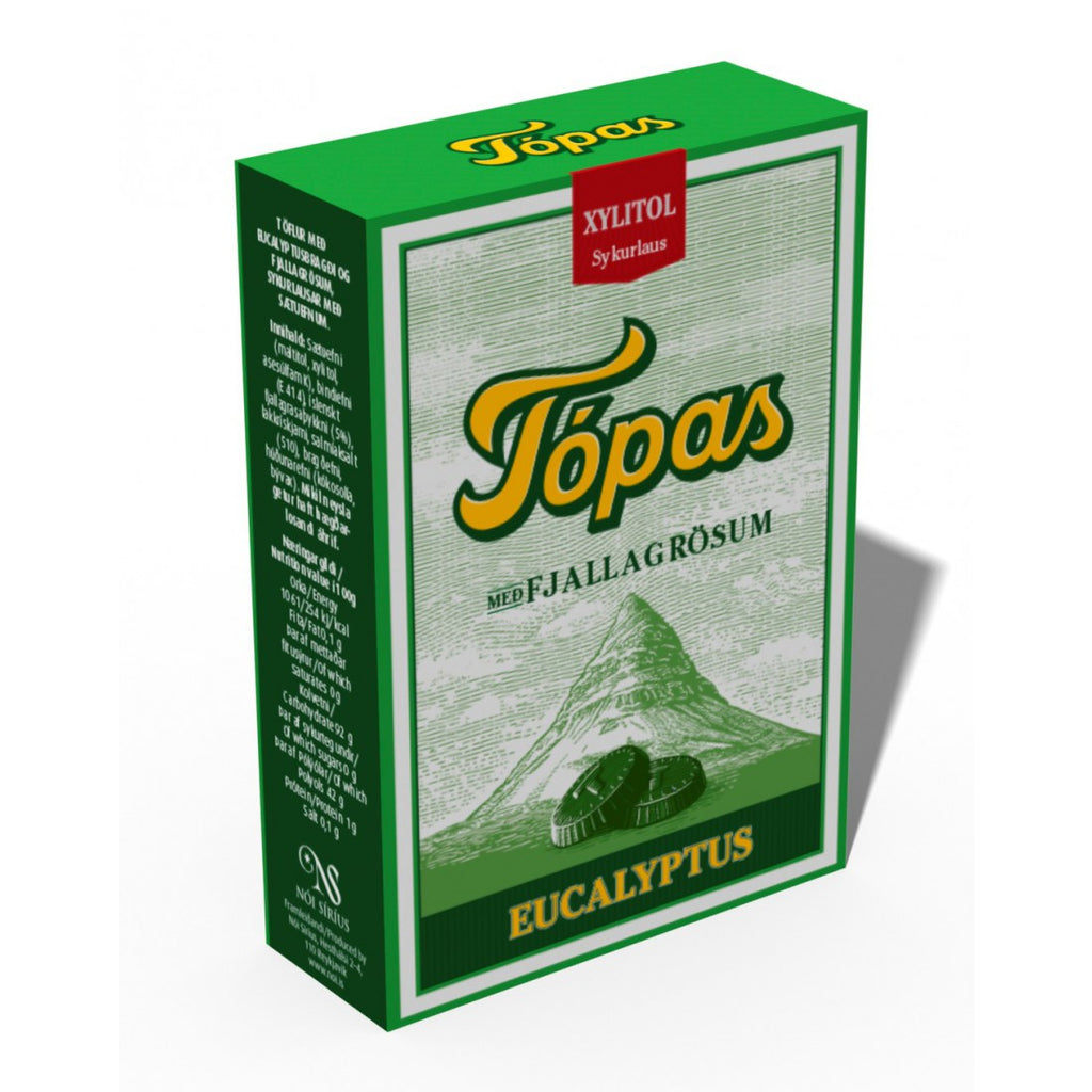 Topas Green Sugar Free (2x40gr) - Topiceland