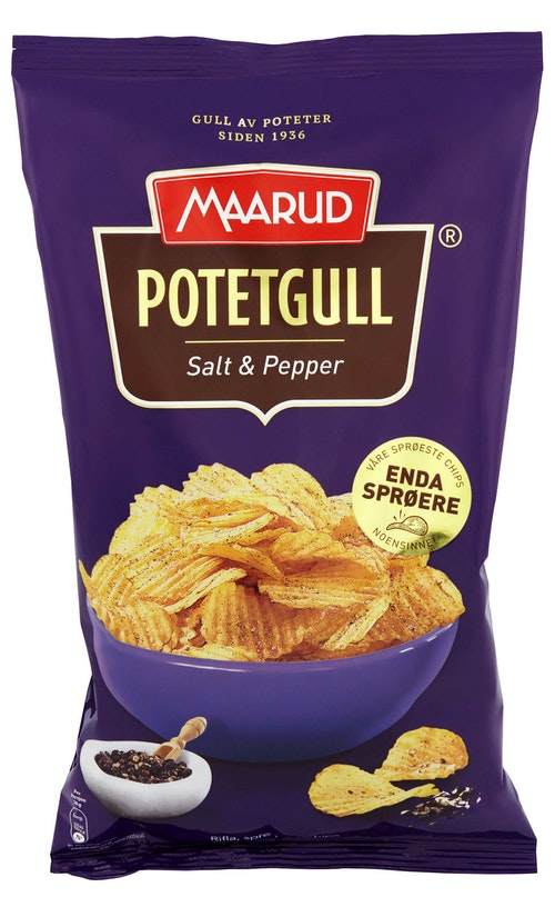 Maarud Salt&Pepper Chips (250g)