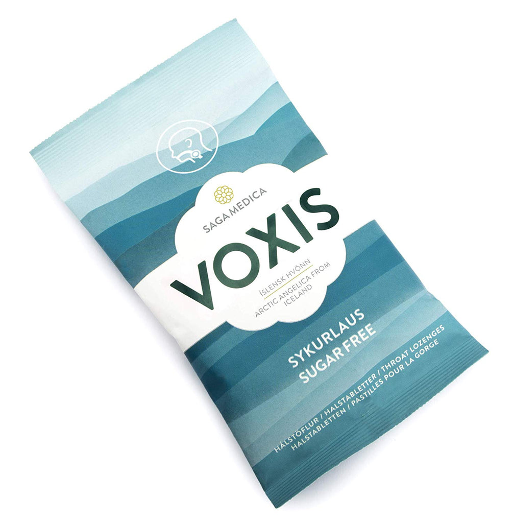 Voxis Natural herbal lozenges - Sugar Free (80gr) - Topiceland