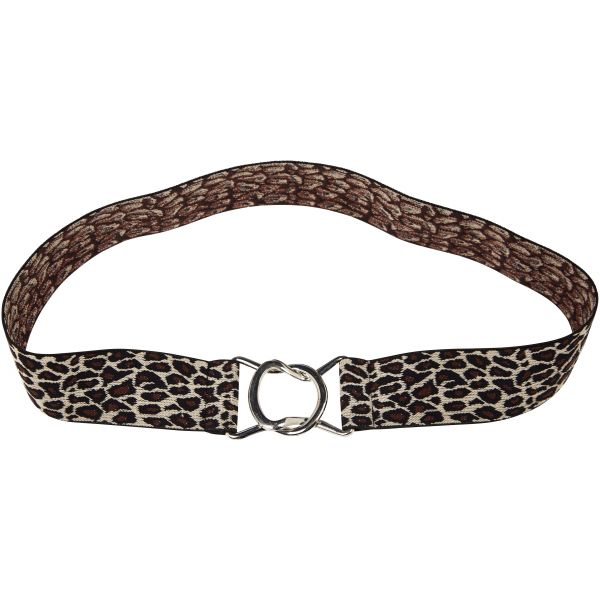 Riem breed animal zwart