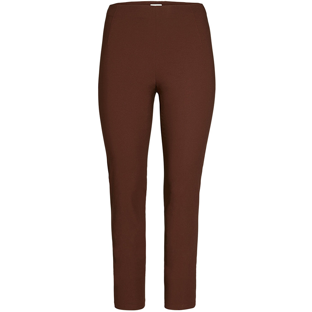 Broek recht stretch domina