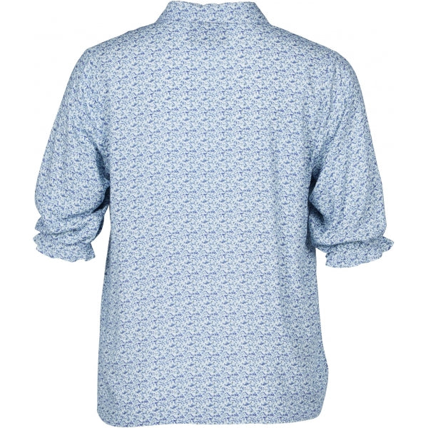 Shirt Anne Light blue mix