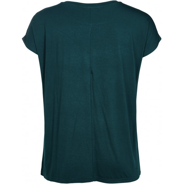 T-shirt Charlee dark bottle green
