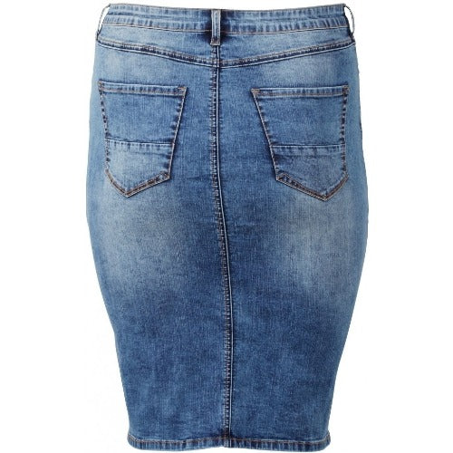 Jeansrok denim blue