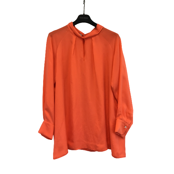 Blouse cupro hot coral