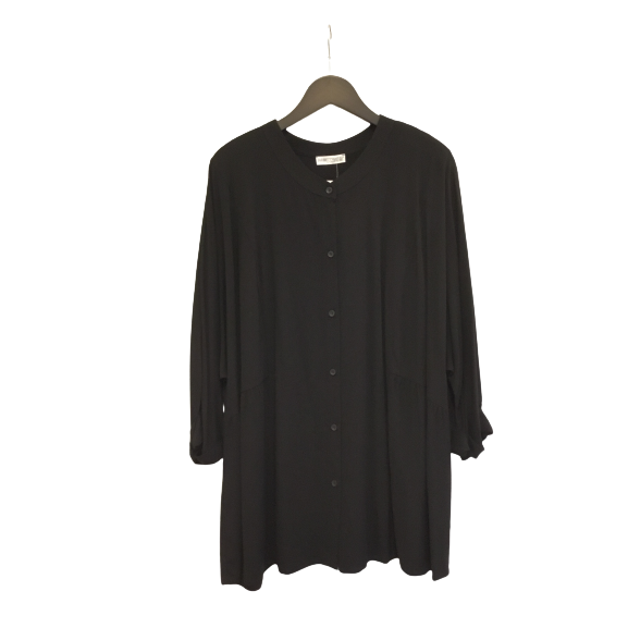 Blouse officierskr zwart