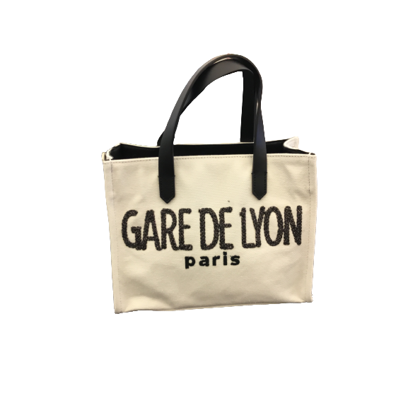 Shopper mini Gare ecru