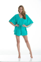 Elan - Jade Romper with Butterfly Sleeves - Cimiche