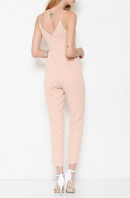 Peach Jumpsuit - Cimiche