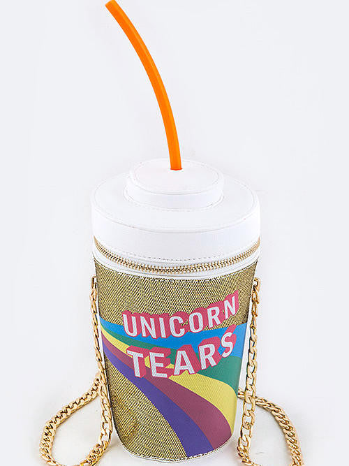 Unicorn Tears Gold Purse - Cimiche