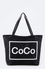 Coco Black Beachbag - Cimiche