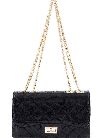 Quilted Black Purse - Cimiche