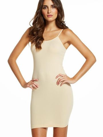 Elan - Slip Dress in Tan - Cimiche