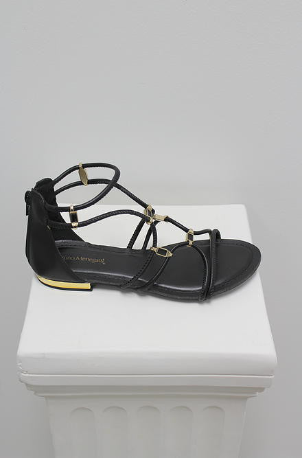 Bruno Menegatti Black Sandals - Cimiche