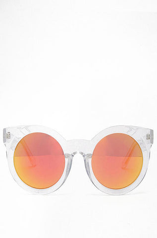 Quay Sunday Girl Clear Frame Sunglasses - Cimiche