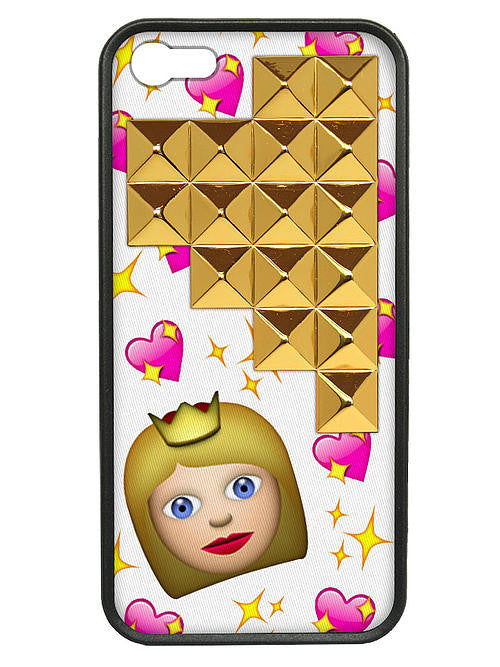 WILDFLOWER Princess Gold Pyramid I-Phone 5/5S Case - Cimiche