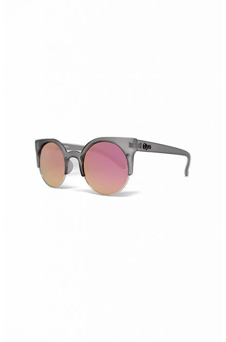 Quay Harlm Grey with Pink Mirror Lens - Cimiche