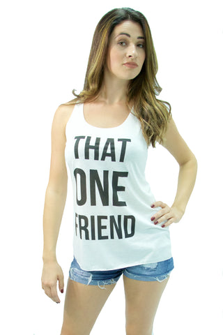 "Bear Dance - ""That One Friend"" Sleeveless Graphic T-Shirt - Cimiche"
