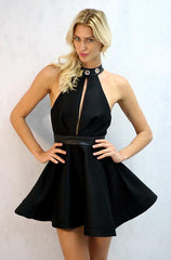 Mustard Seed Dancing Queen Dress in Black - Cimiche