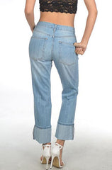Signature Distressed Denim Jeans - Cimiche