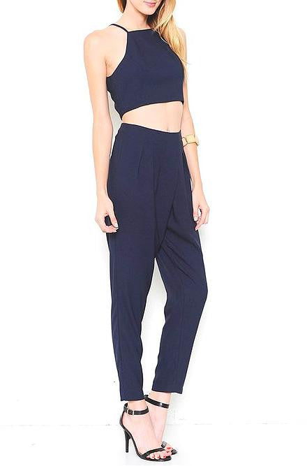 L'atiste - Navy Blue Pants Set - Cimiche