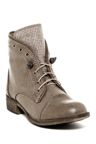 Report Footwear - Nyles Grey Boots - Cimiche