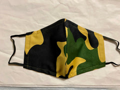 Camo Print - 100% Cotton Masks