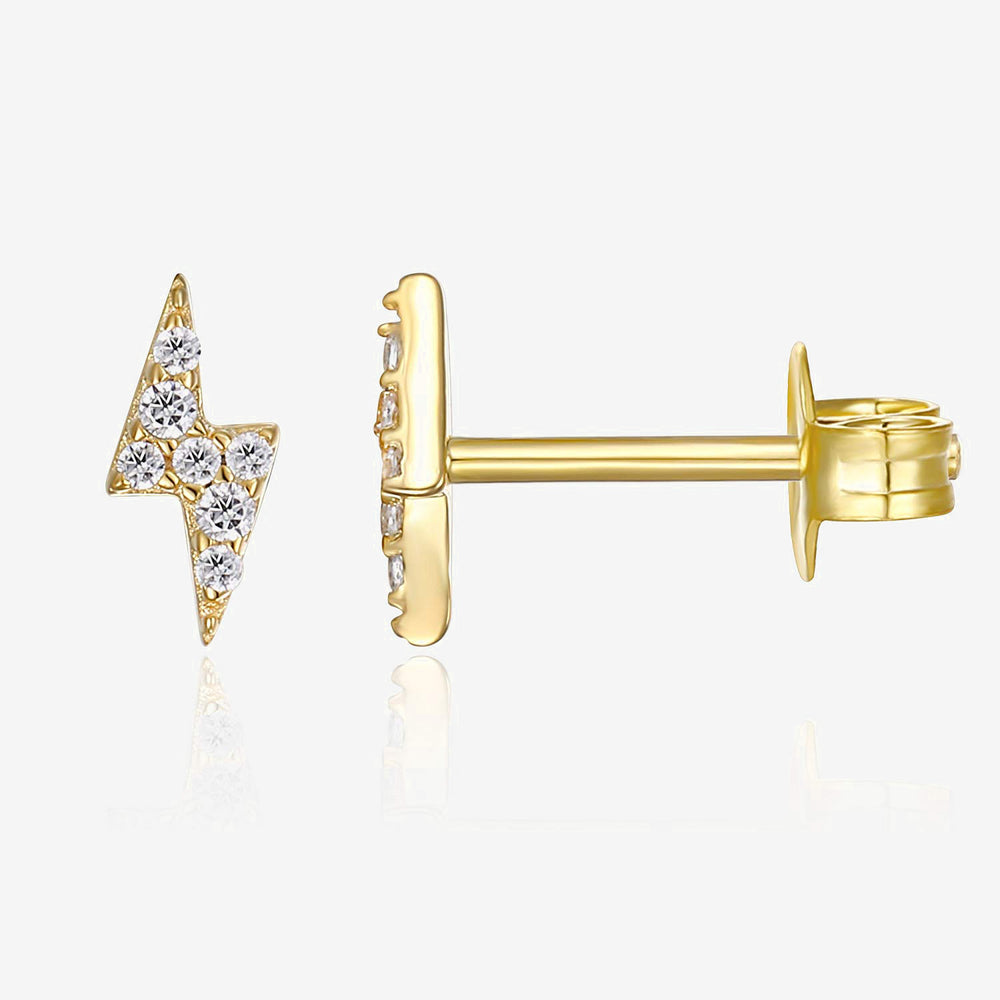 Lightning CZ Earrings