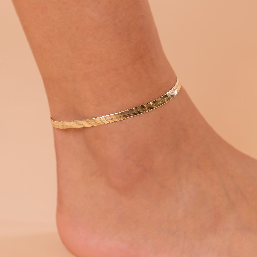 Snake and Marina Anklets
