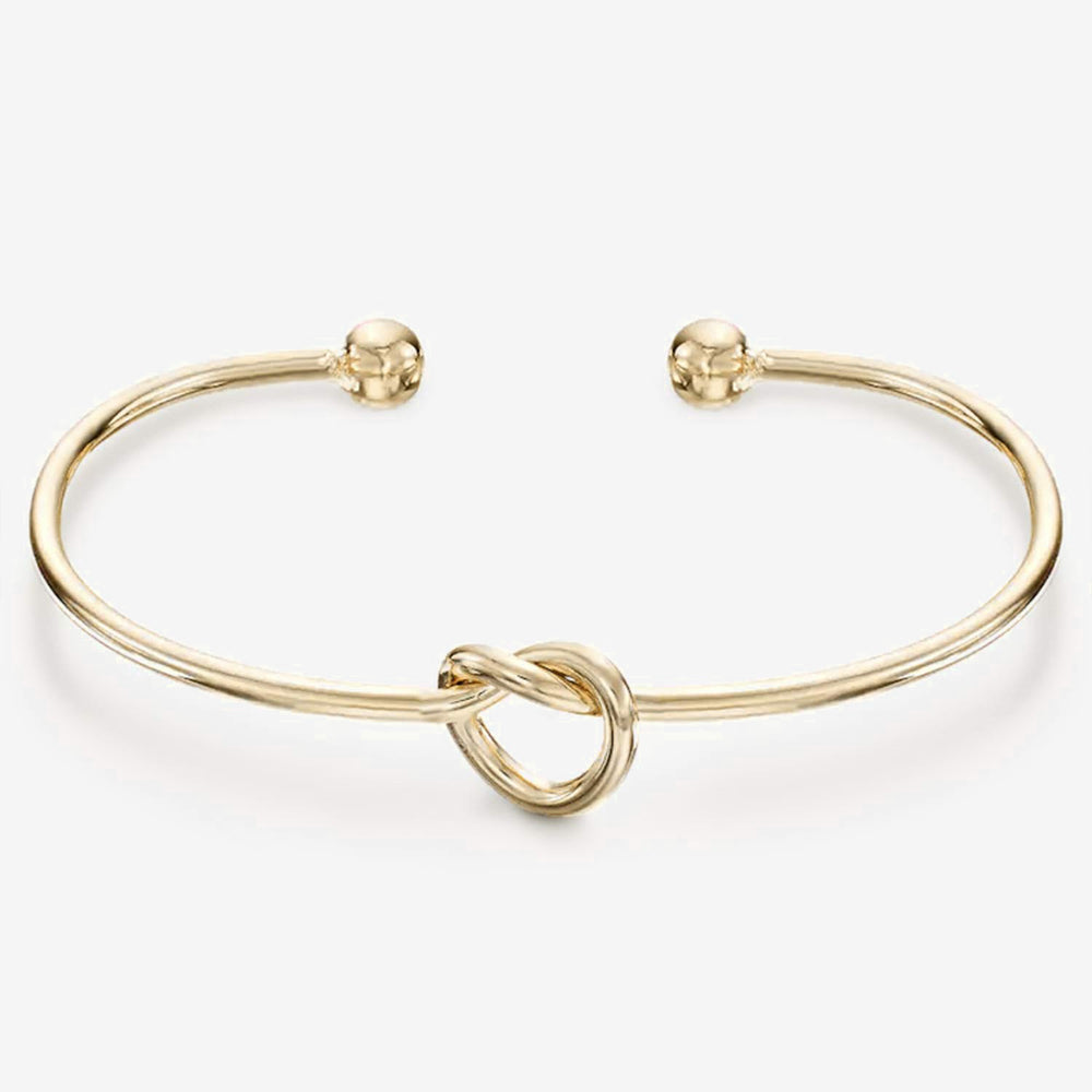 PAVOI 14K Gold Plated Forever Love Knot Infinity Bracelets for Women | Gold Bracelet for Women