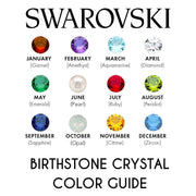 Swarovski Crystal Birthstone Ring