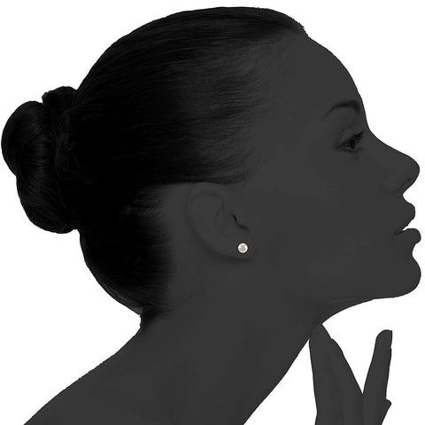 Simulated Shell Pearl Earrings