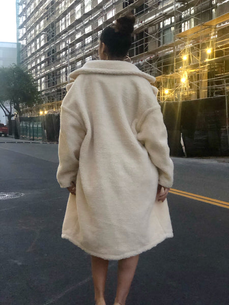 Snow Day Oversized Coat