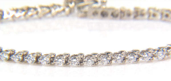 Custom Diamond Tennis Bracelet