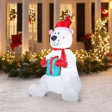 Gemmy Airblown Christmas Inflatables 6'  Polar Bear