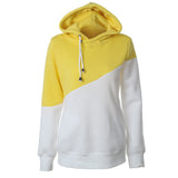 2016 Autumn Winter Women Casual Solid Hoodies Unisex Lapel Hooded New Sweatshirts Pullovers Turn-down Collar WBA0010