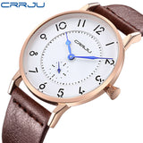 2016 Luxury Brand Men Watches Ultra Thin Genuine Leather Clock Male Quartz Sport Watch Men Waterproof Casual Wristwatch relogio