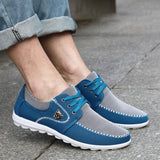 new brand canvas casual men shoes british loafers flats mens masculino jogging driving shoes men's flat shoes size 39-44