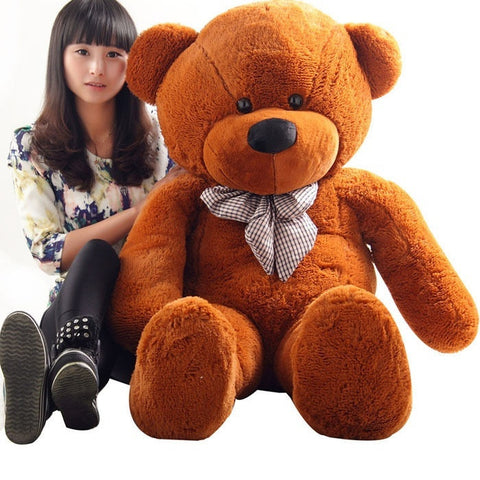 80/100CM On Sale Giant Big Cute Plush Stuffed Teddy Bear Soft Cotton Toys Cute