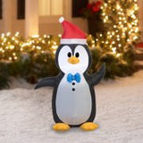Gemmy Airblown Christmas Inflatables Penguin, 4'