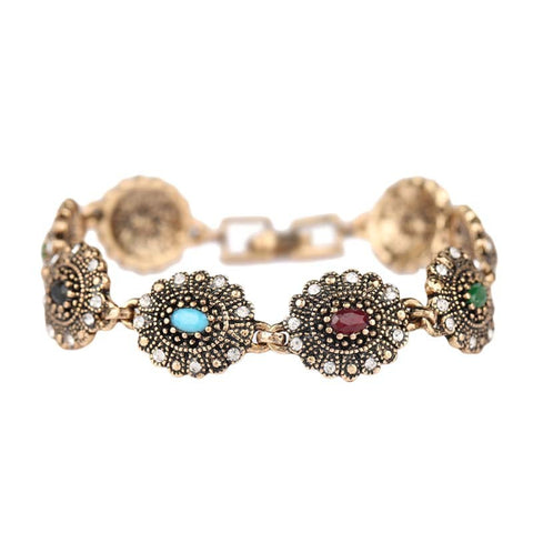 Hot Sell From 19mm Snap Button Jewelry Charms Rose Gold Bracelets For Women Colorful brazaletes pulseras mujer
